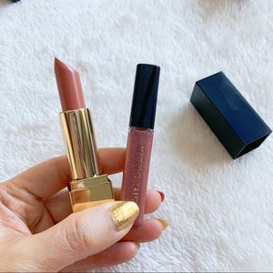 Brand New Estée Lauder Lip Stick & Lip Gloss Set